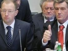 Опрос: В наилучшей политической форме сейчас Ющенко и Яценюк