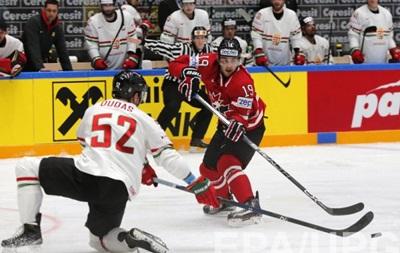 ЧМ по хоккею: Канада не оставляет шансов Венгрии