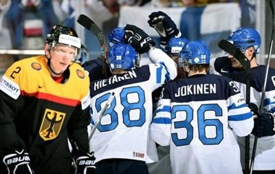 ЧМ по хоккею: Финляндия без проблем справилась с Германией