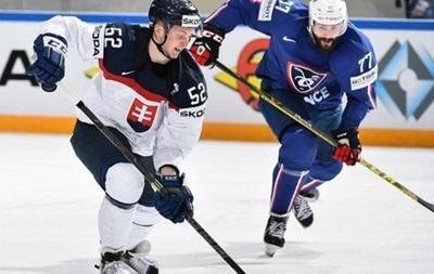 ЧМ по хоккею: Словакия уверенно бьет Францию