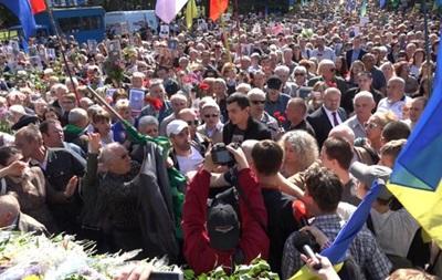 В Харькове произошла драка возле Вечного огня