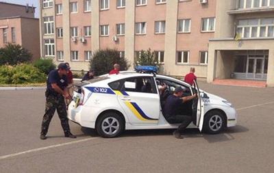 В Харькове посреди улицы стреляли в мотоциклиста