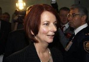 Премьер-министром Австралии впервые в истории стала женщина