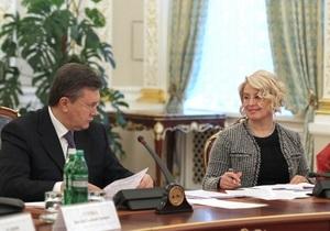 Герман растолковала слова Януковича о статусе русского языка