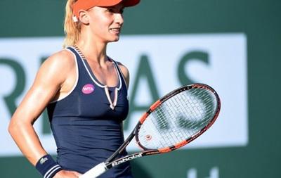 Цуренко в упорном матче прошла во второй круг турнира в Риме