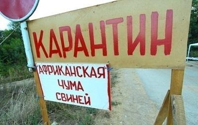 На Хмельнитчине зафиксирован первый случай АЧС