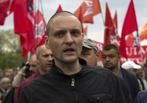 В Twitter появились записи о задержании Удальцова и Лебедева по делу о массовых беспорядках