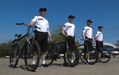 В Мариуполе появились велопатрули
