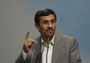 Ахмадинеджад: США убили бин Ладена для переизбрания Обамы