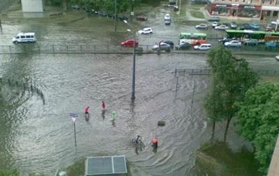 Умань затопило дощами