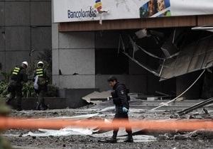 В Боготе прогремел мощный взрыв