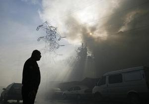 На одном из рынков Москвы произошел пожар: более десяти погибших