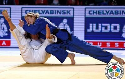 Украинка Черняк выиграла медаль Гран-при по дзюдо
