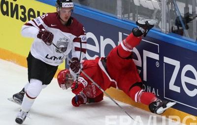 ЧМ по хоккею: Дания вырывает победу у Латвии