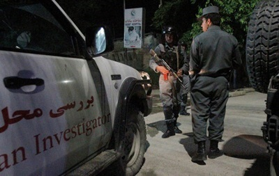 Смертник напал на учебный центр афганской полиции