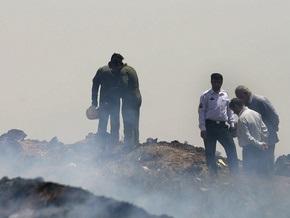 Иранские СМИ опубликовали список погибших при крушении Ту-154