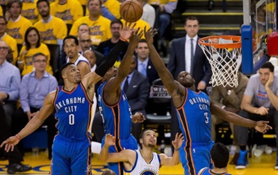 NBA: Оклахома вышла вперед в серии с Голден Стэйт