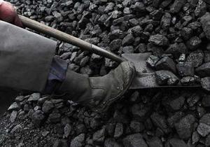 Украина увеличила добычу угля на три процента