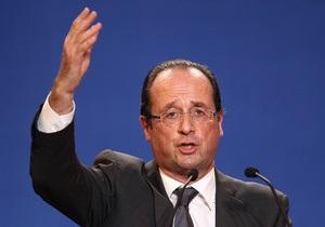Президент Франции из-за кризиса отказался от новогодних каникул