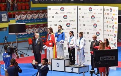 Українка Ромолданова стала чемпіонкою Європи з тхеквондо