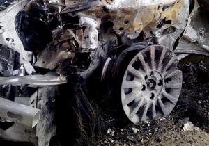 В выходные в Киеве горели четыре автомобиля