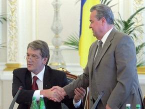 Источник: Если Плюща не изберут спикером, то Ющенко разгонит Раду