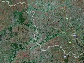 Россия разрешила Украине снимать приграничные районы