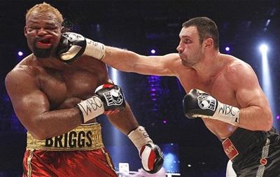 Бриггс: После боя с Кличко я весил 181 кг и думал спрыгнуть с моста