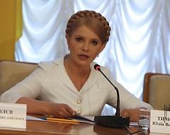 Тимошенко попросит МВФ не кредитовать власть Януковича