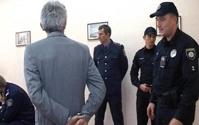 Допрос нападавшего на жену Турчинова: видео