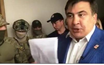 Саакашвили призвал Луценко отозвать следователей