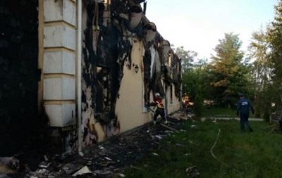 Причиной пожара под Киевом мог стать взорвавшийся телевизор
