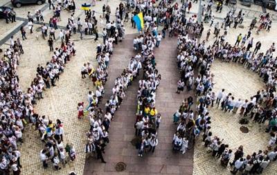 Киевляне отпраздновали День города