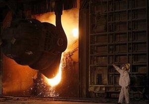 Украина заняла восьмое место в мире по объему выплавки стали