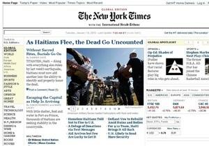 Онлайн-версия The New York Times станет платной со следующего года