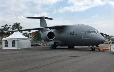 Украинский Ан-178 прибыл на авиасалон в Берлине