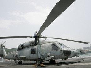 В Калифорнии потерпел крушение вертолет ВМС США
