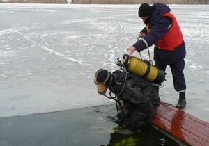 В Сумской области погибли двое молодых местных жителей, провалившись под лед