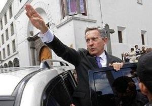 Суд Колумбии выступил против третьего срока для президента Урибе
