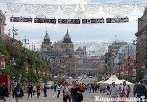 Фотогалерея: Киев в ожидании Евро-2012. Центр столицы за неделю до старта чемпионата
