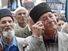 В Крыму появились очередные антитатарские надписи