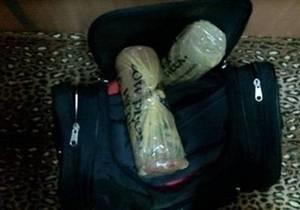 В Луганской области ГАИ задержала мужчину с двумя кило конопли