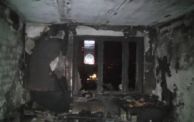 В Харькове горело общежитие