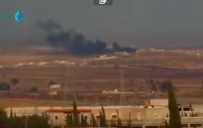 В Сирии разбился военный самолет