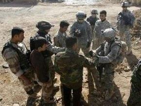 Террорист-смертник атаковал американский патруль в Ираке