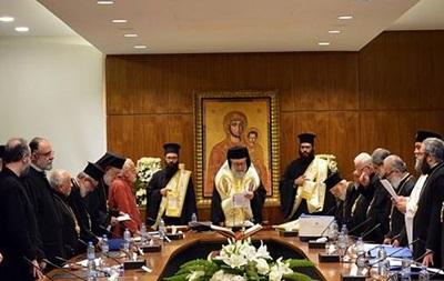 Ще одна церква відмовилася від Всеправославного Собору