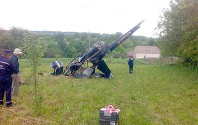 В Хмельницкой области разбился вертолет