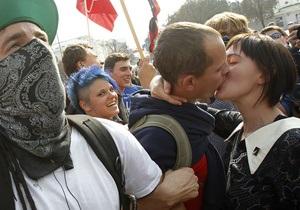 В Киеве студенты вышли на акцию протеста