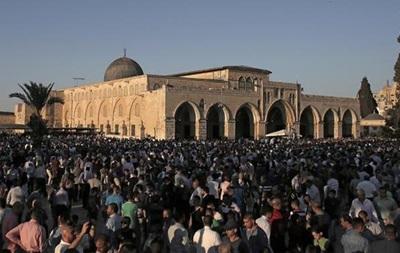 Израиль запретил палестинцам въезд в страну на Рамадан