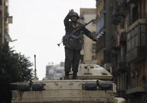 Армия Египта назвала условие отмены чрезвычайного положения, действующего в стране 30 лет